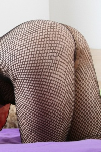 Bri Skies - Fishnets And Wet Pussy - Picture 3
